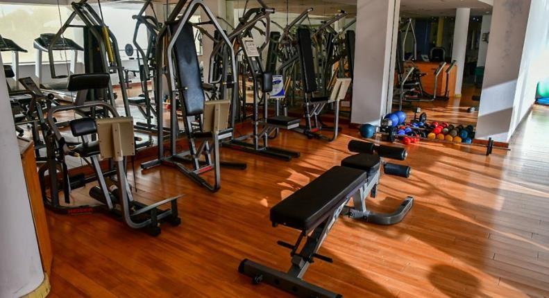 E Hotel на Кипре - Фитнес-центр